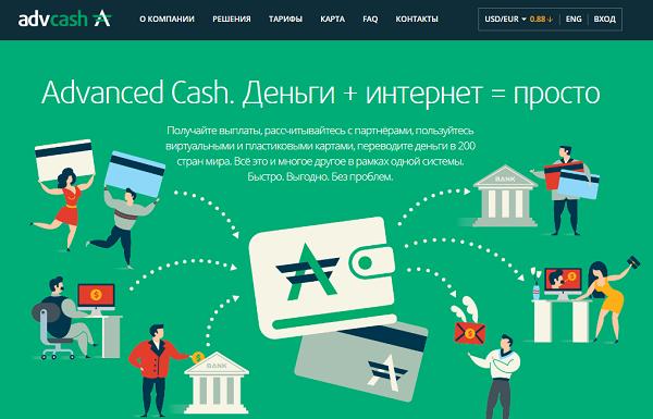 Как совершить обмен с AdvCash на Приват24