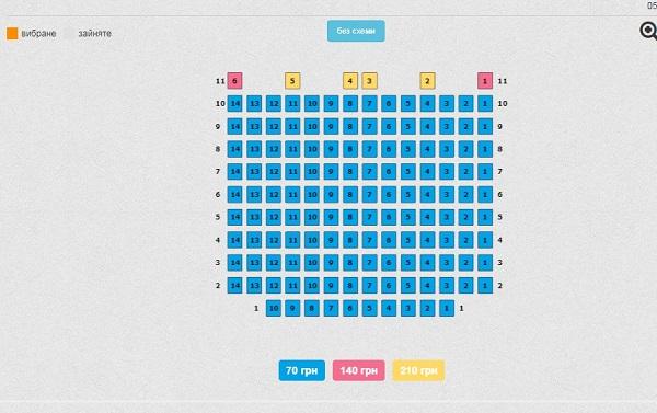 приват24 покупка билетов в кино
