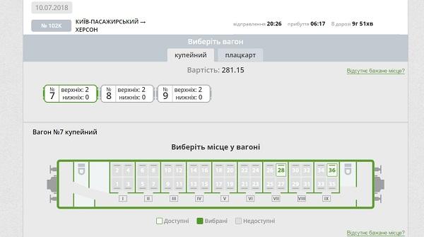 приват24 покупка билетов на поезд
